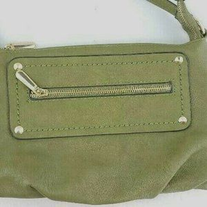 Charming Charlie Olive Army Green small purse